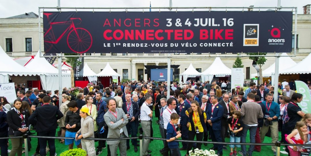 Vue du salon Angers Connected Bike