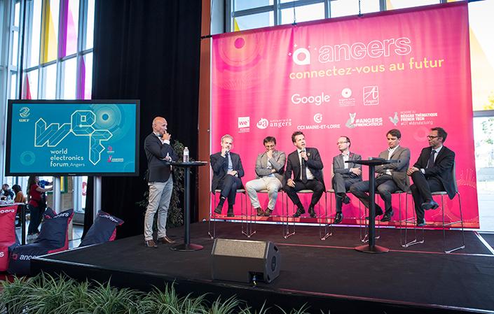 Une première présentation publique du WEF a eu lieu au Quai lors de l'opération Angers accueille Google. (Photo: Thierry Bonnet/Ville d'Angers)