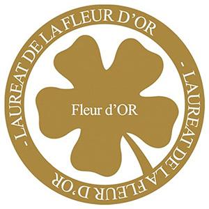 Logo Lauréat Fleur d'Or