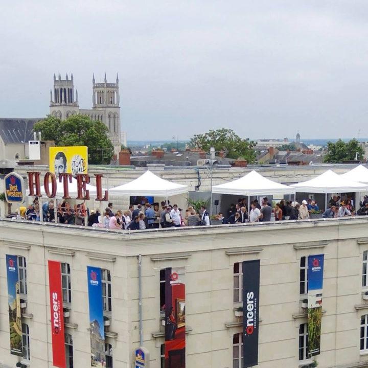 Rooftop de l'hôtel d'Anjou